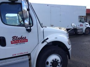 Blakes Moving and Storage - our trucks