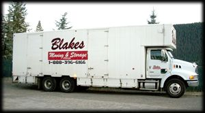 Blakes Moving truck